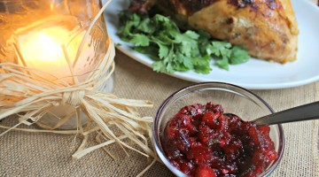 Dress Up Your Turkey with Cranberry Apple Jalapeno Cilantro Relish