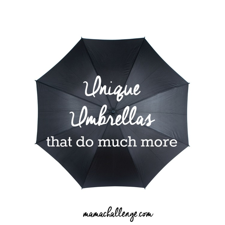 e1eeac23fb454 Unique Umbrellas That Do More - mamachallenge | Real Solutions for ...