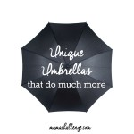 Unique Umbrellas That Do More