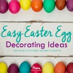 Easy Easter Egg Decorating Ideas