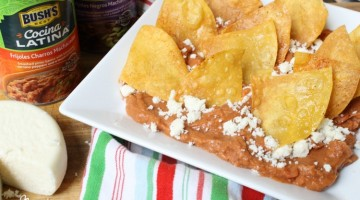 Real Deal Mexican Nachos with Homemade Tortilla Chips