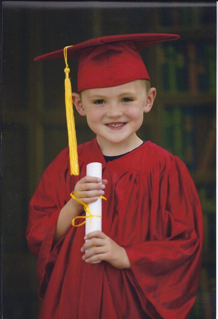 Jackson Kinder Graduation