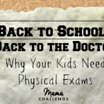 Back to School Should Mean Back to the Doctor
