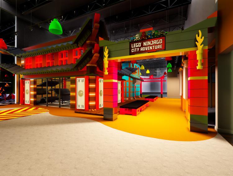 Ninjago City Adventure Rendering 2