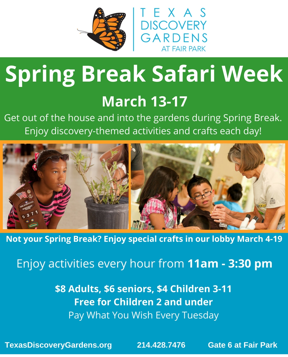 Spring Break Safari Week