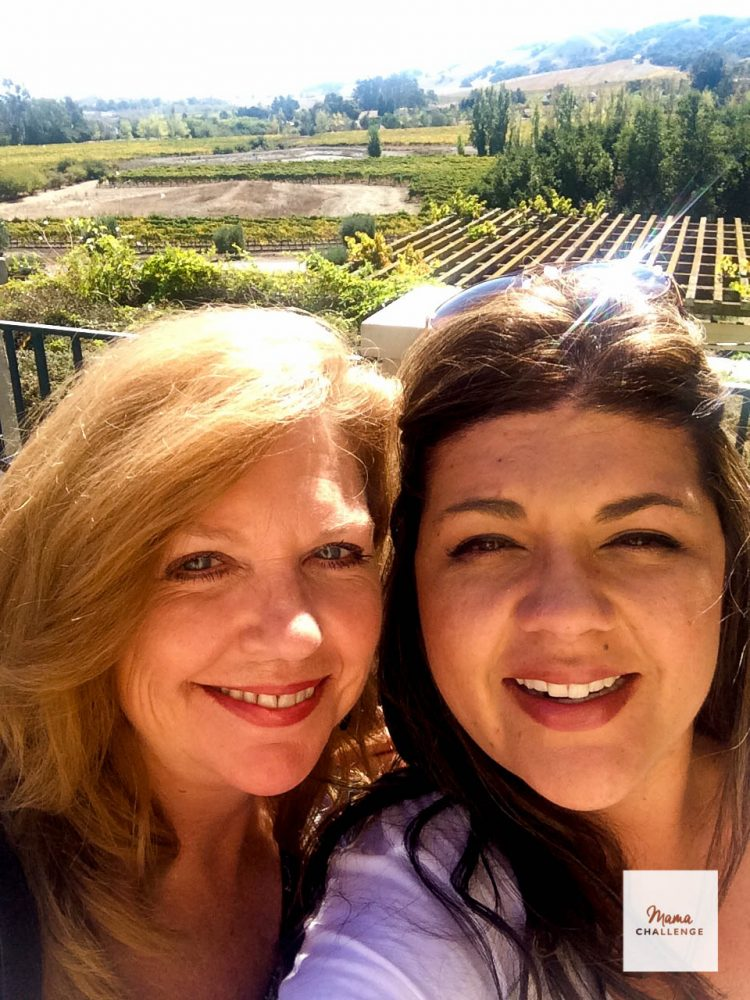 Napa Valley with my Mom