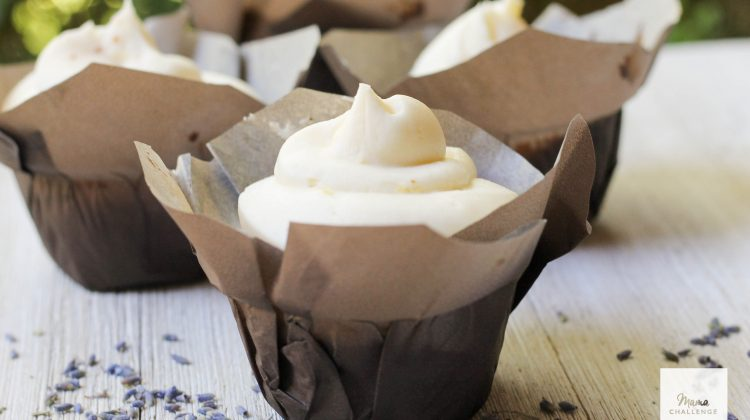 Lemon Lavender Cupcakes (Just like Magnolia Bakery)