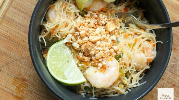 Peanuts to Pinot: Pad Thai with Spicy Peanut Sauce