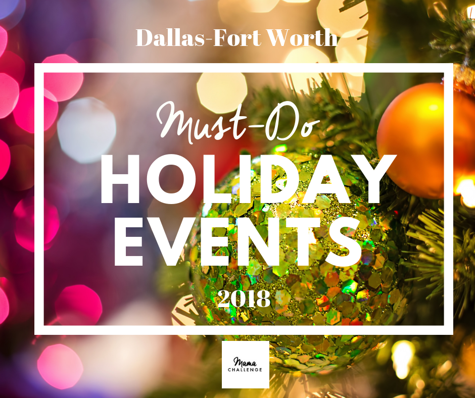 Holiday Events in DFW 2018