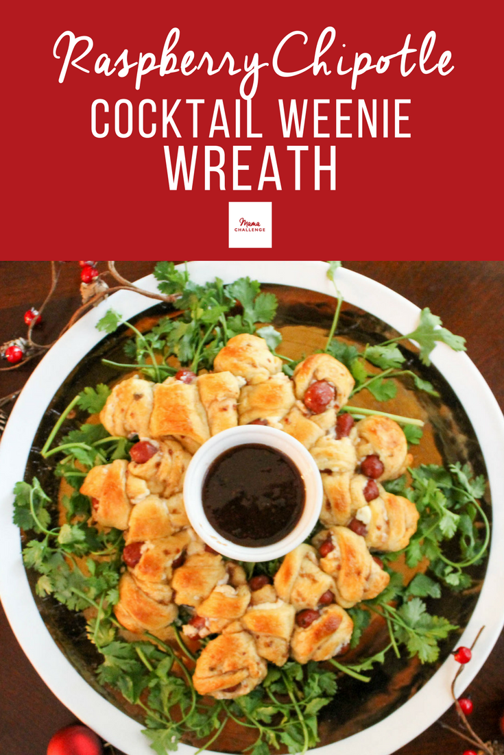 Raspberry-Chipotle-Cocktail-Weenie-Wreath-Recipe