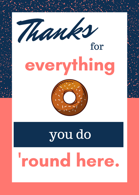 Thank You For Everything Bagel Printable Mamachallenge