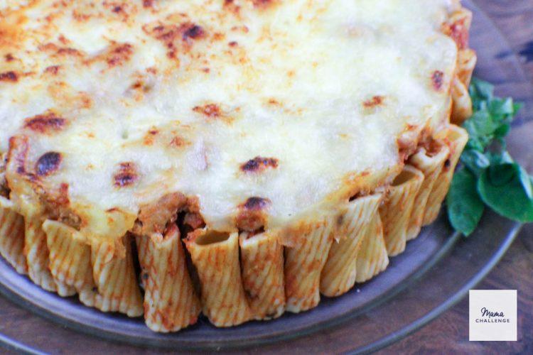 Cheesy Pasta Pie (2 of 9)