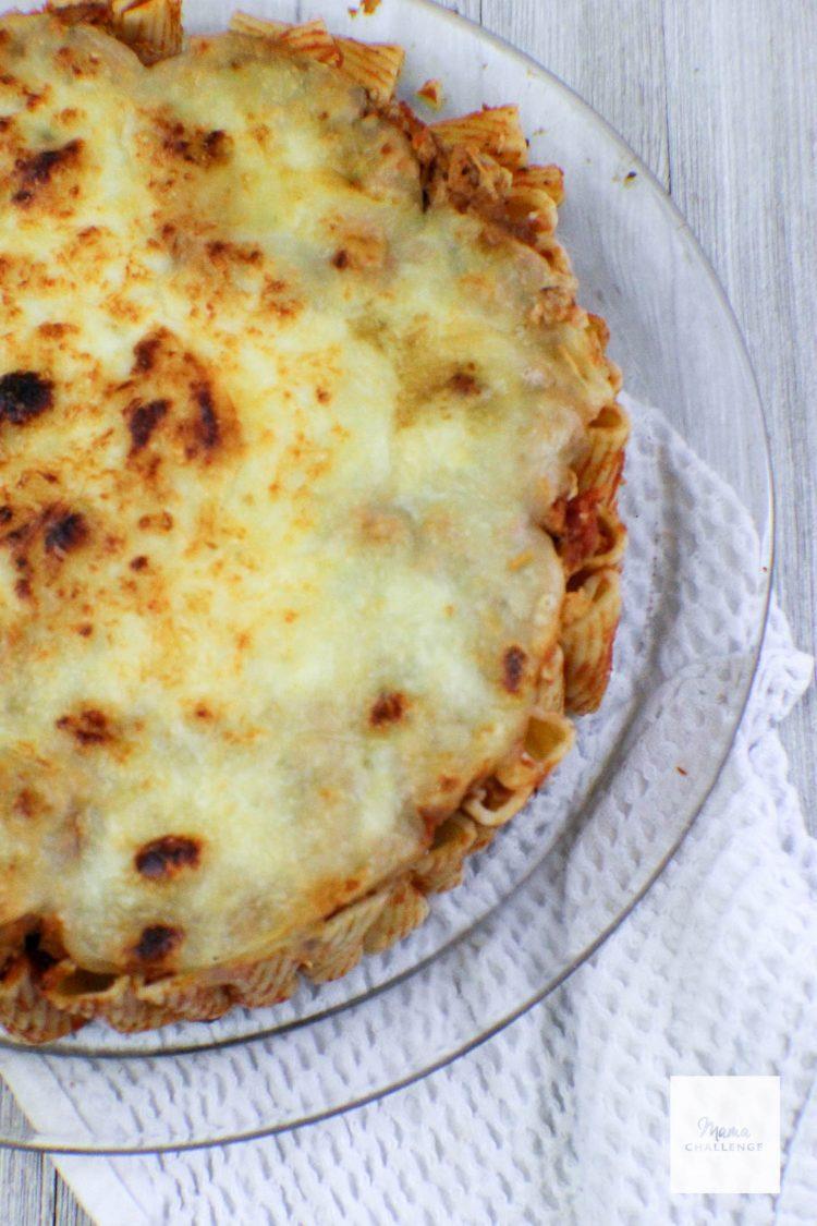 Cheesy Pasta Pie (6 of 9)
