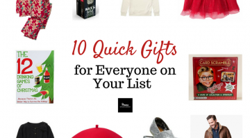 10 Quick Gift Picks to Check Off Your List {Giveaway}