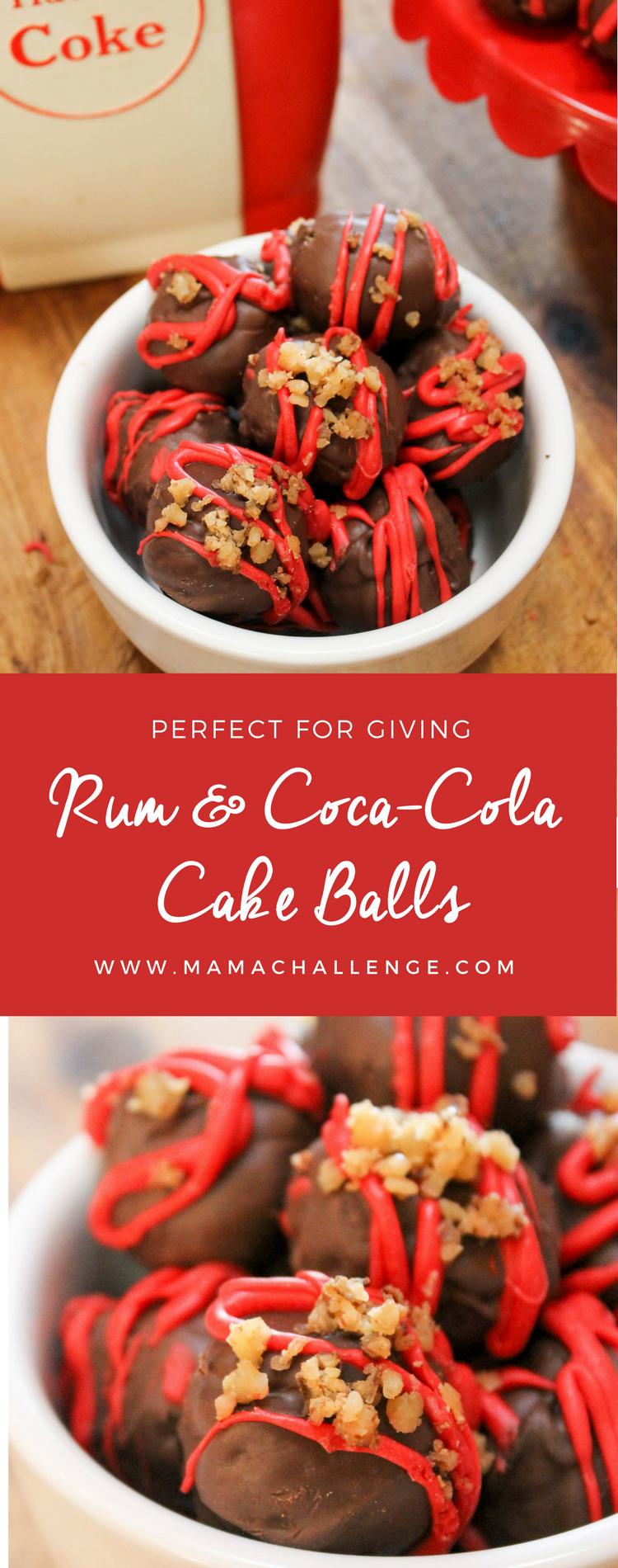Rum and Coke Cake Balls