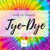 How to Tye Dye with Food Coloring