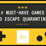 10 Must-Have Nintendo Switch Games to Escape Quarantine {Animal Crossing Giveaway}