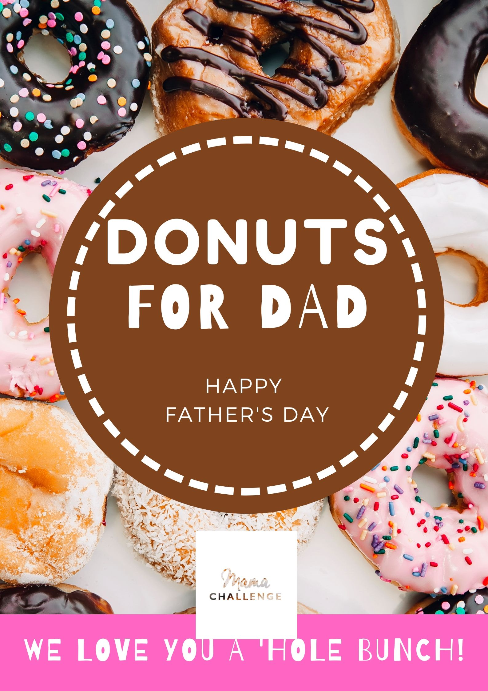 Donuts for Dads - Download MamaChallenge