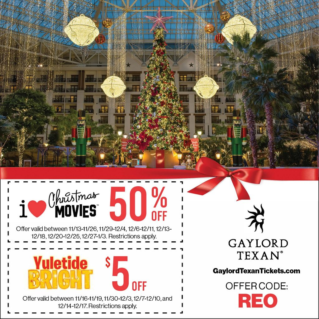 Gaylord Texan Coupon